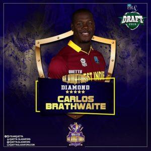 Carlos Brathwaite Quetta Gladiators