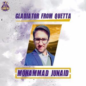 Mohammad Junaid Quetta Gladiators