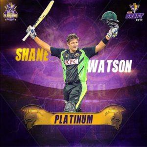 Shane Watson Quetta Gladiators