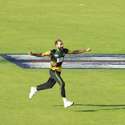 Imran Tahir After a Hat Trick