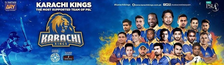 Karachi Kings Team 2019