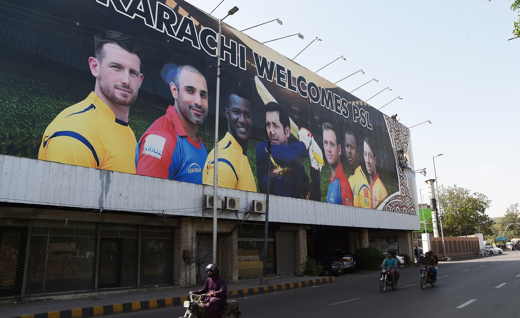 PSL 2019 in Karachi