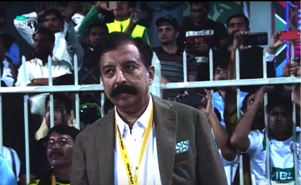 Rana Fawad Sahb During a Match