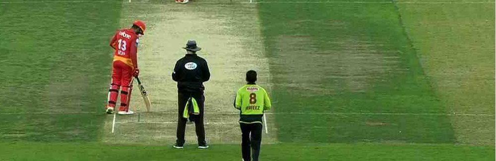 Random Match Scene Between Islamabad United and Lahore Qalandars in PSL 2019