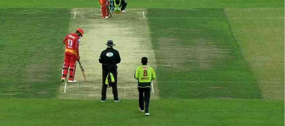 Random Match Scene Between Islamabad United and Lahore Qalandars in PSL 2019